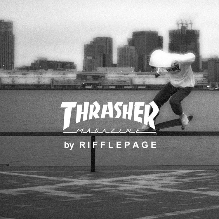『THRASHER by RIFFLEPAGE』ZOZOTOWNショップイメージ