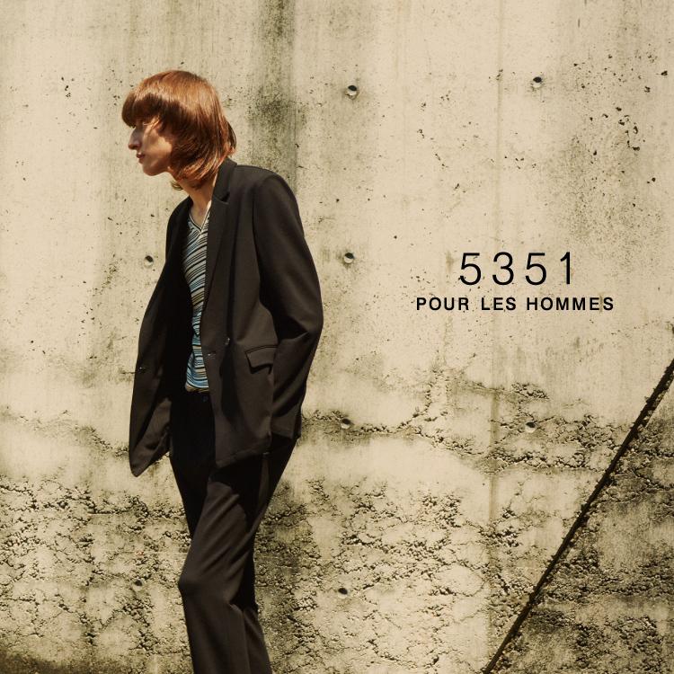 『5351POUR LES HOMMES ET LES FEMMES』ZOZOTOWNショップイメージ