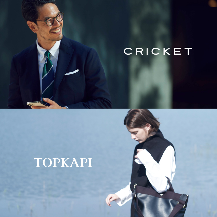 『CRICKET/TOPKAPI』ZOZOTOWNショップイメージ
